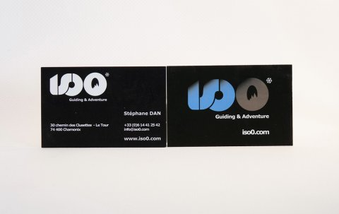 Iso0<br />Visit card